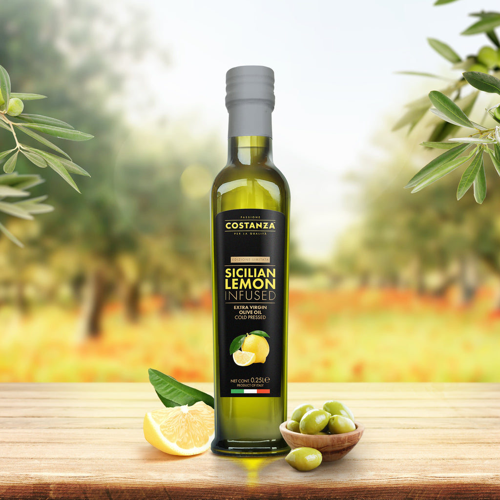 Sicilian Lemon Infused Extra Virgin Olive Oil