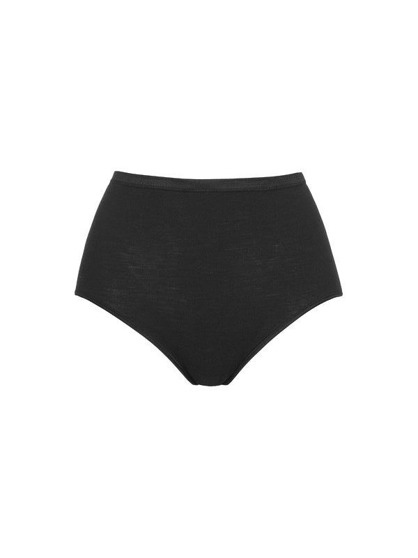 HANRO Woolen Silk 'Black' Brief