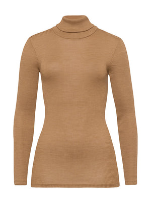 Karla Woolen Silk Turtleneck