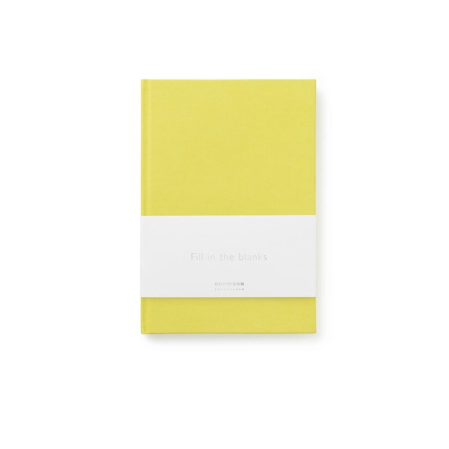 Stationary Normann Notebook Small: Lemon Curry - The Union Project, Cheltenham, free delivery