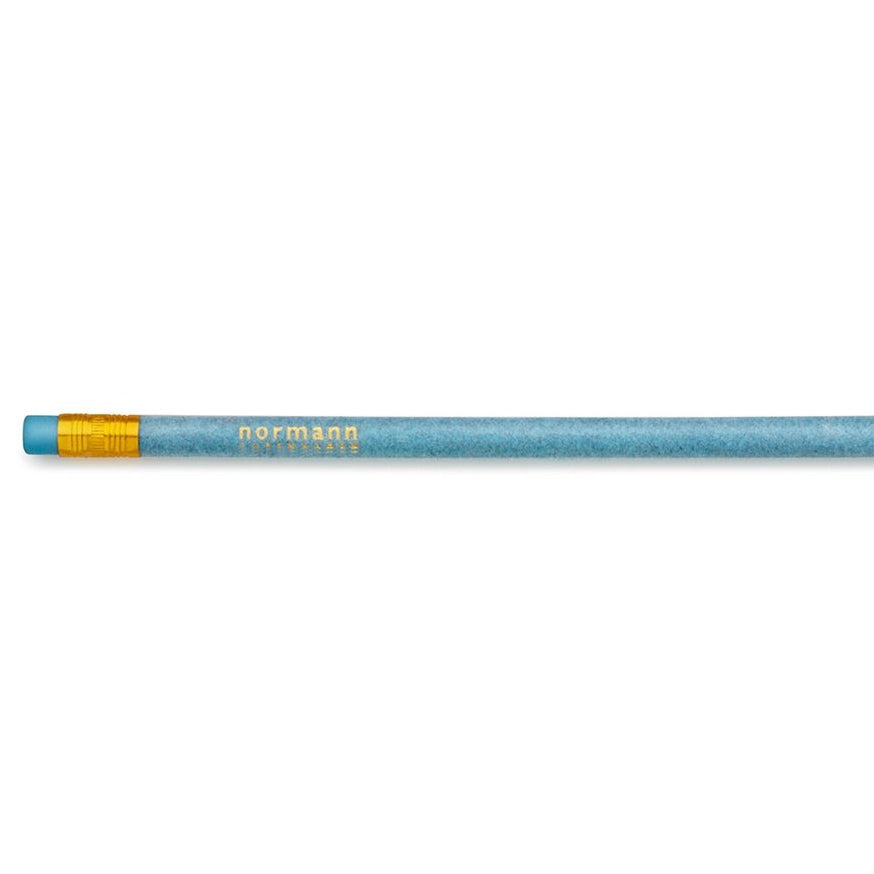 Stationary Normann Flock Pencil: Powder Blue - The Union Project, Cheltenham, free delivery