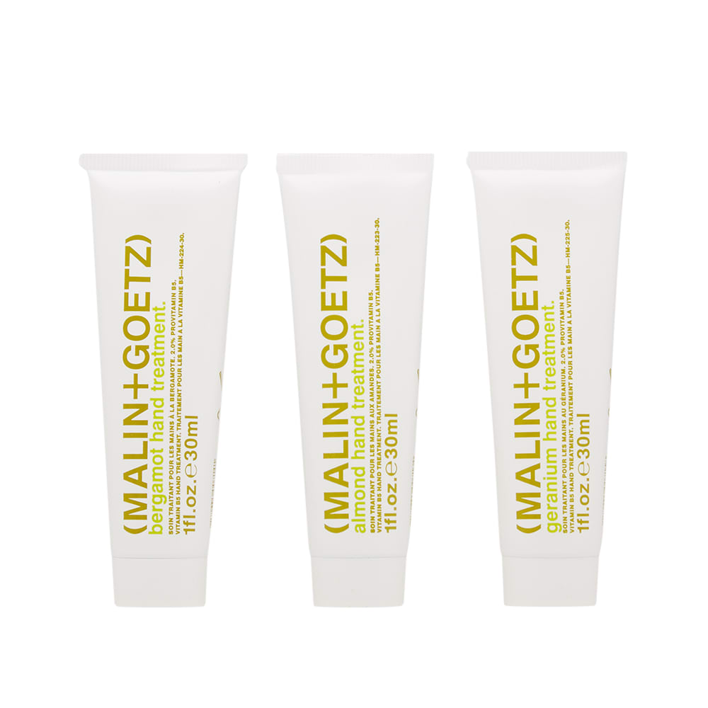 Skincare + Fragrance Malin + Goetz Vitamin B5 Hand Treatment Trio - The Union Project, Cheltenham, free delivery