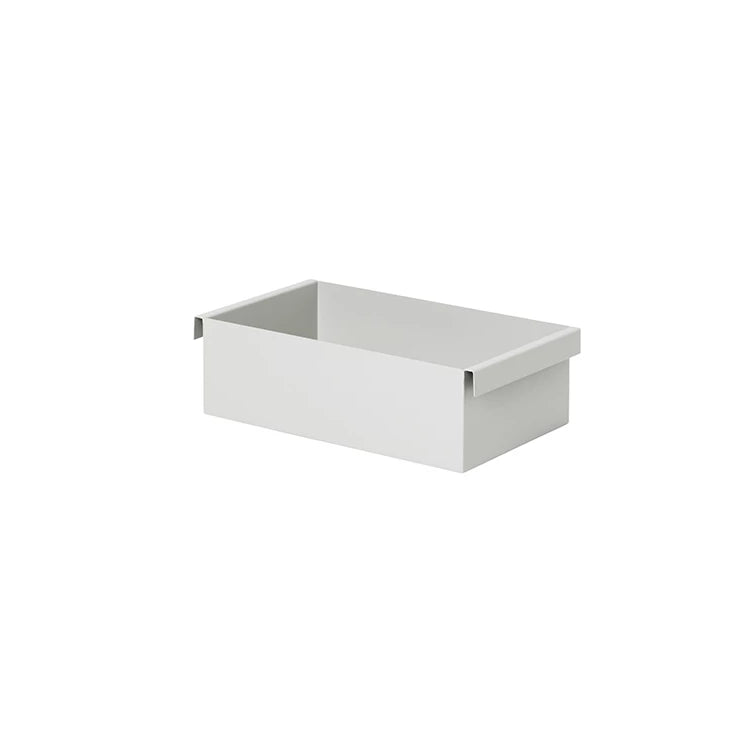 Ferm Living Plant Box Container: Light Grey - The Union Project