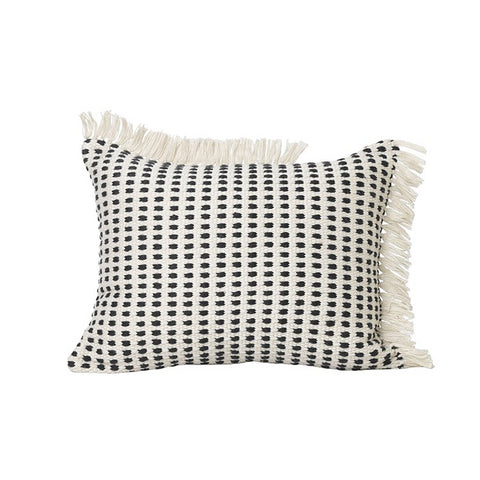 Cushions + Blankets Ferm Living Way Cushion: Off White/Blue - The Union Project, Cheltenham, free delivery