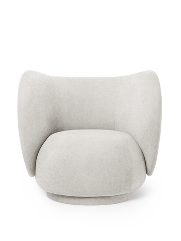 Ferm Living - Rico Lounge Boucle - Off-White