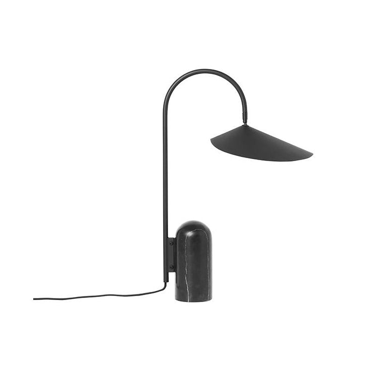 Ferm Living Arum Table Lamp: Black - The Union Project
