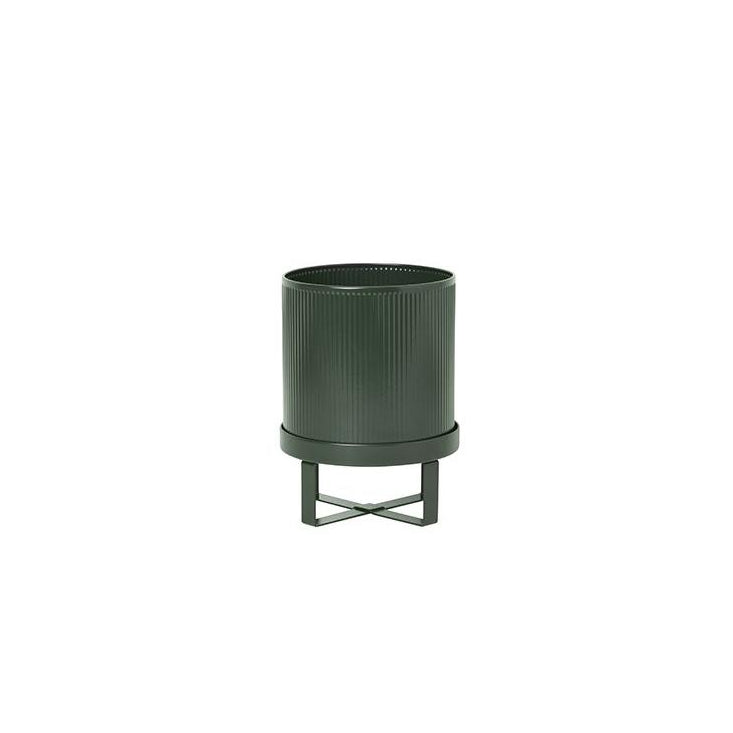 Plant Pots + Vases Ferm Living Bau Pot Small: Dark Green - The Union Project, Cheltenham, free delivery