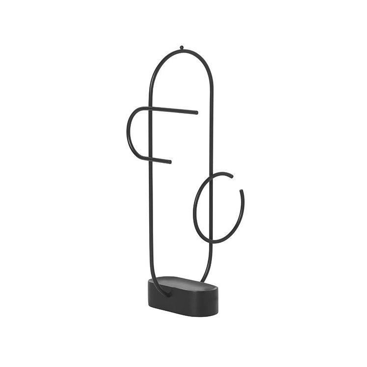 Ferm Living Obu Jewellery Stand: Black - The Union Project