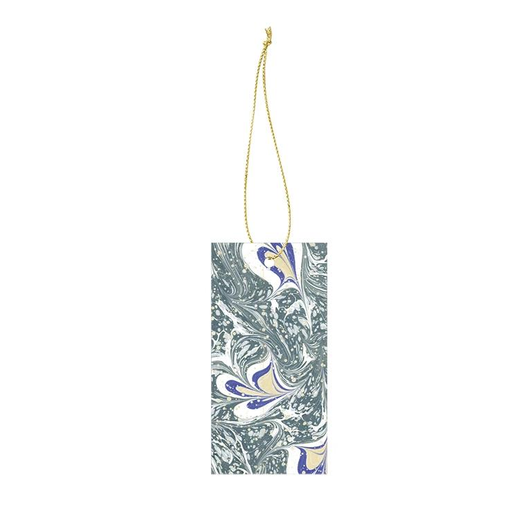 Ferm Living Marbling Gift Tags: Grey (Set of 6) - The Union Project