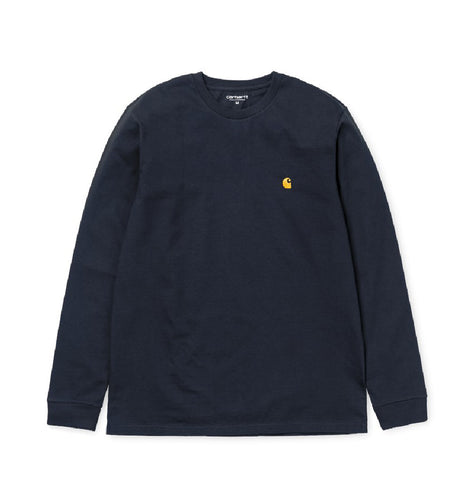 T-Shirts Chase Longsleeve T-Shirt: Dark Navy - The Union Project