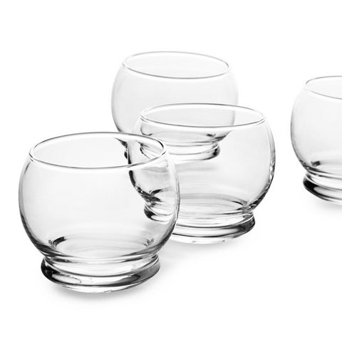 Glassware Rocking Glasses - 4 pcs - The Union Project