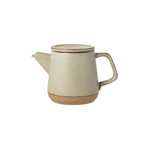 Coffeeware + Teaware KINTO CLK-151 Teapot 500ml: Beige - The Union Project, Cheltenham, free delivery
