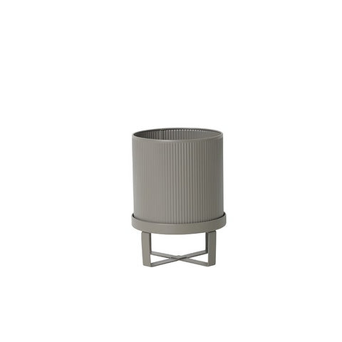 Plant Pots & Vases Ferm Living Bau Pot Small: Warm Grey - The Union Project