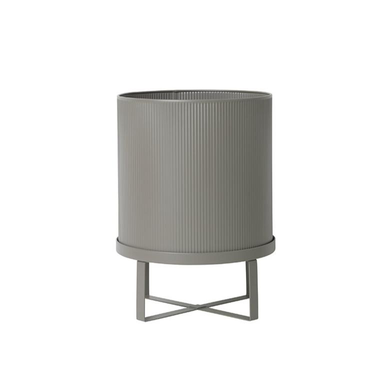 Ferm Living Bau Pot Large: Warm Grey - The Union Project