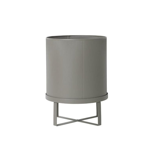 Plant Pots + Vases Ferm Living Bau Pot Large: Warm Grey - The Union Project, Cheltenham, free delivery