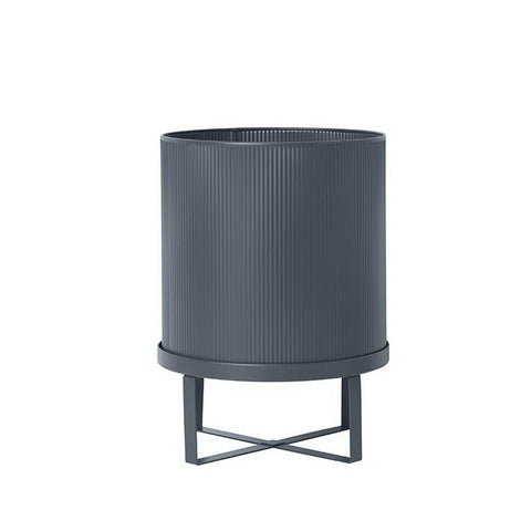 Plant Pots + Vases Ferm Living Bau Pot Large: Dark Blue - The Union Project, Cheltenham, free delivery
