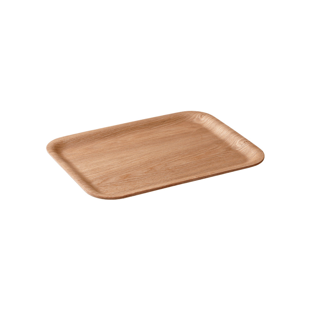 KINTO Nonslip Rectangular Tray 320mm: Willow - The Union Project