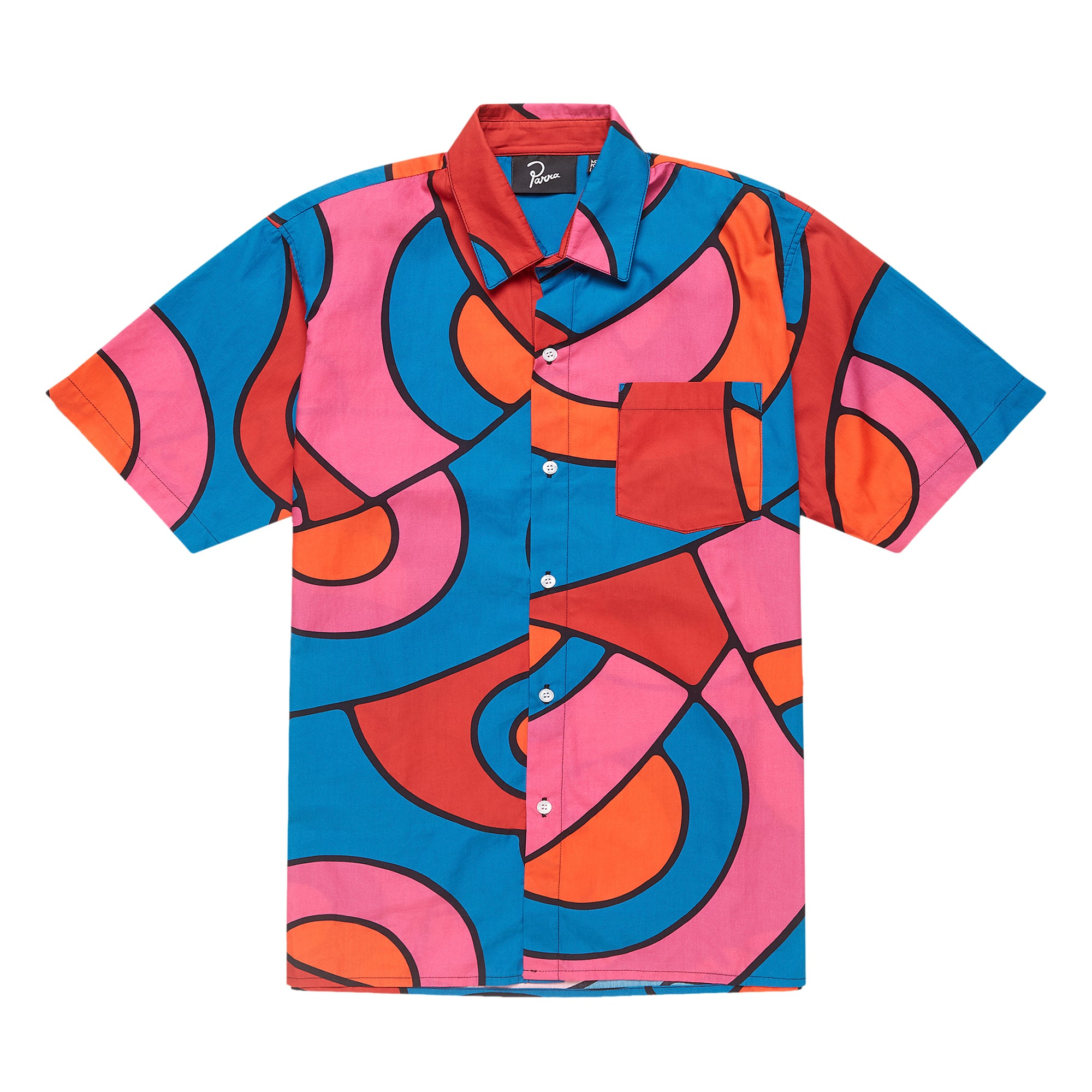 Parra Serpent Pattern Shirt: Multicolor - The Union Project