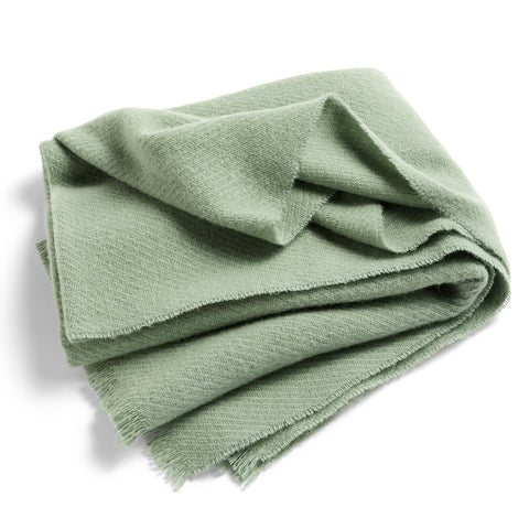 Cushions + Blankets HAY Mono Blanket: Verdigris Green - The Union Project, Cheltenham, free delivery