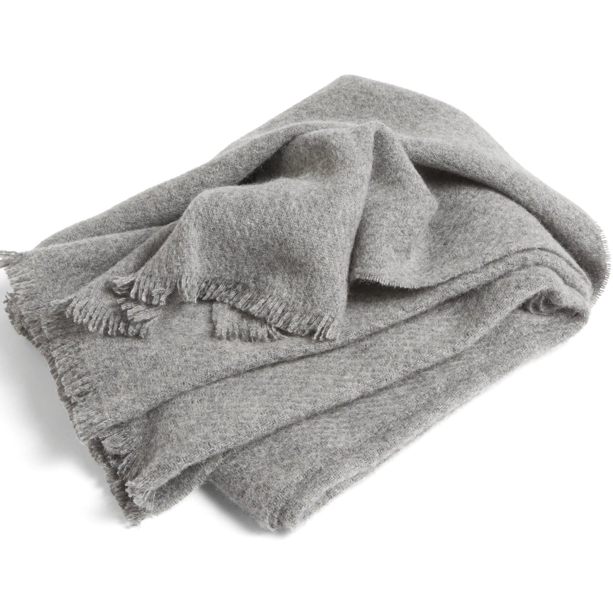 HAY Mono Blanket: Steel Grey - The Union Project