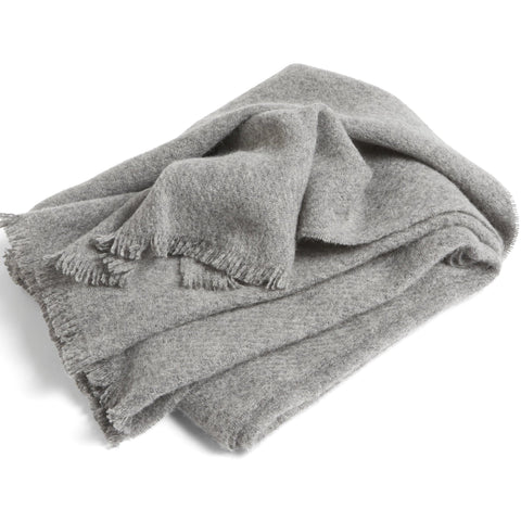 Cushions + Blankets HAY Mono Blanket: Steel Grey - The Union Project, Cheltenham, free delivery