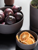 Ferm Living Sekki Pot Medium: Charcoal