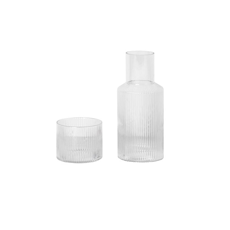 Ferm Living Ripple Carafe Set - The Union Project