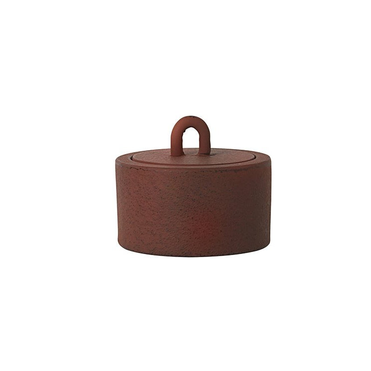 Ferm Living Buckle Jar: Rust - The Union Project