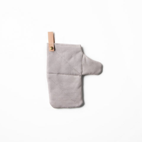 Kitchen Ferm Living Canvas Oven Mitt: Grey - The Union Project