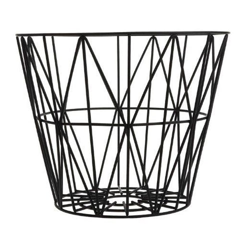 Wire Basket Small: Black