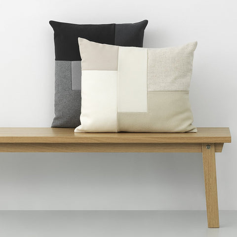 Cushions + Blankets Brick Cushion: Cream - The Union Project