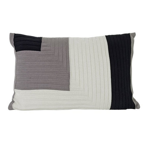 Cushions + Blankets Ferm Living Angle Knit Cushion: Grey - The Union Project, Cheltenham, free delivery