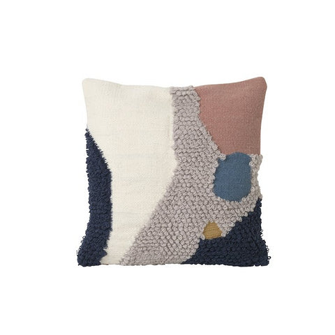 Ferm Living Loop Cushion: Landscape