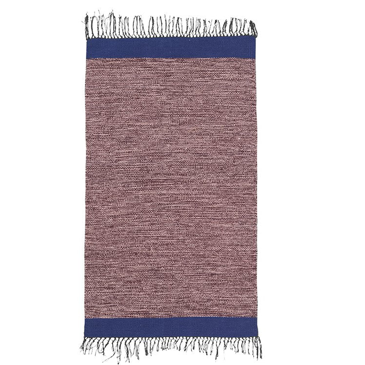 Ferm Living Melange Rug: Rose - The Union Project