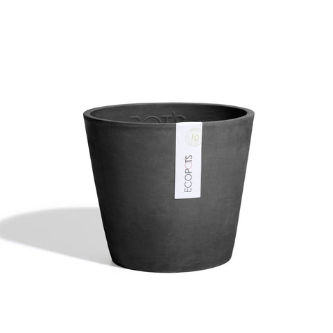 Ecopots Amsterdam Pot Small: Black