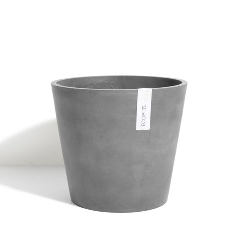 Plant Pots + Vases Ecopots Amsterdam Pot Large (40cm): Grey - The Union Project, Cheltenham, free delivery