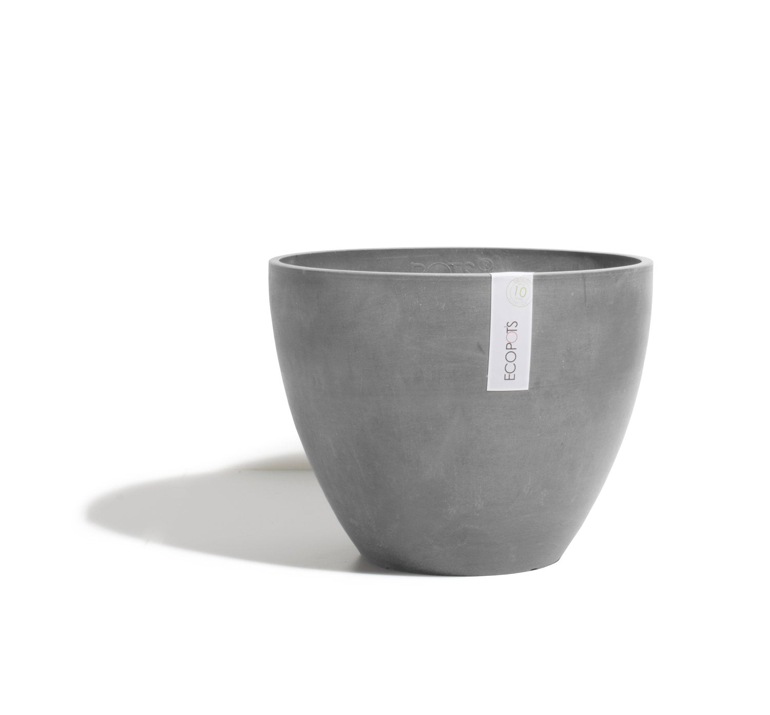 Ecopots Antwerp Pot Large (50cm): Grey - The Union Project
