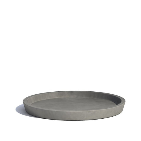 Plant Pots + Vases Ecopots Saucer for Amsterdam Pot Small: Grey - The Union Project, Cheltenham, free delivery