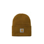 Carhartt WIP Acrylic Watch Hat: Hamilton Brown