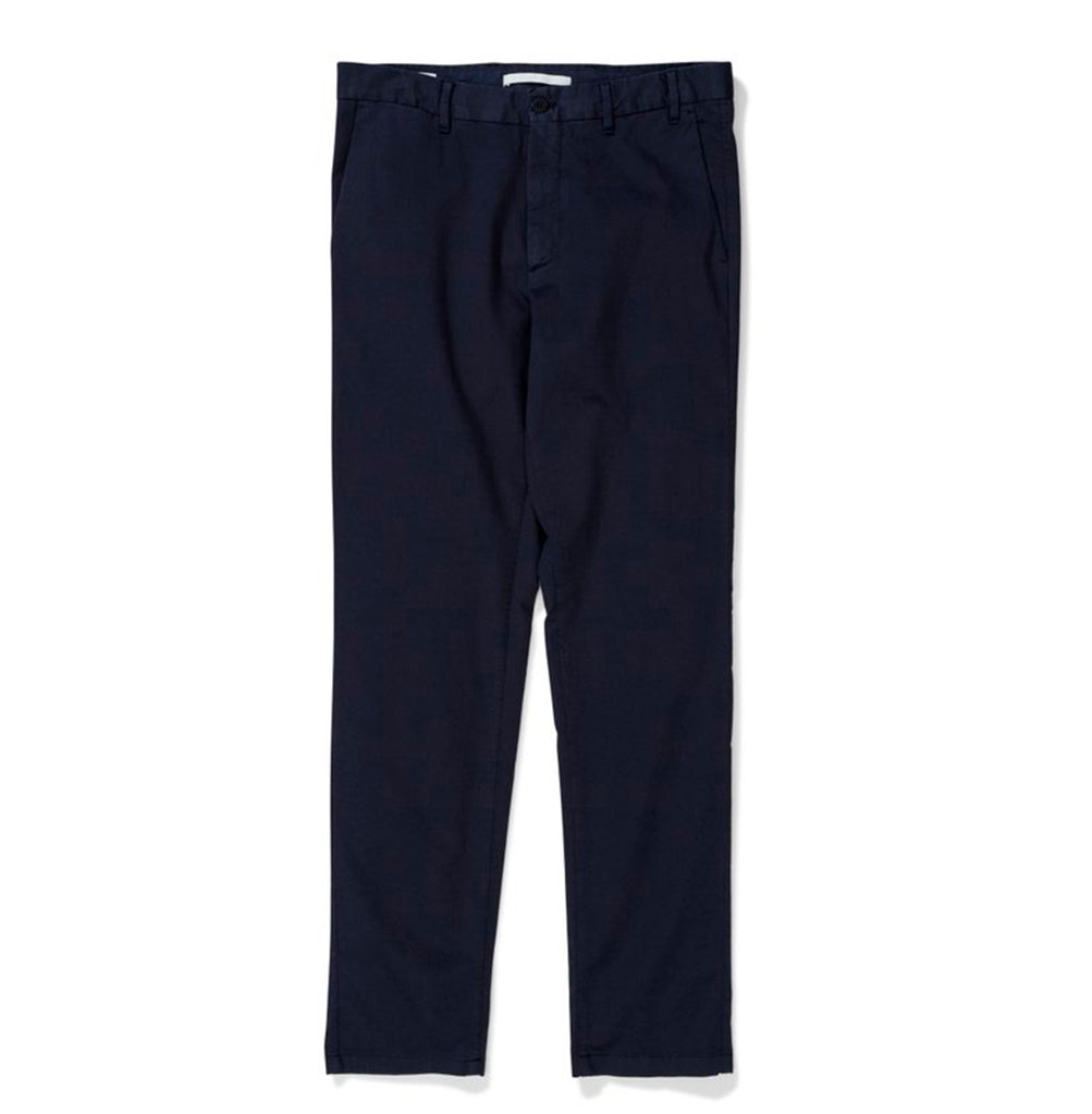 Norse Projects Aros Slim Light Stretch Chino: Dark Navy - The Union Project