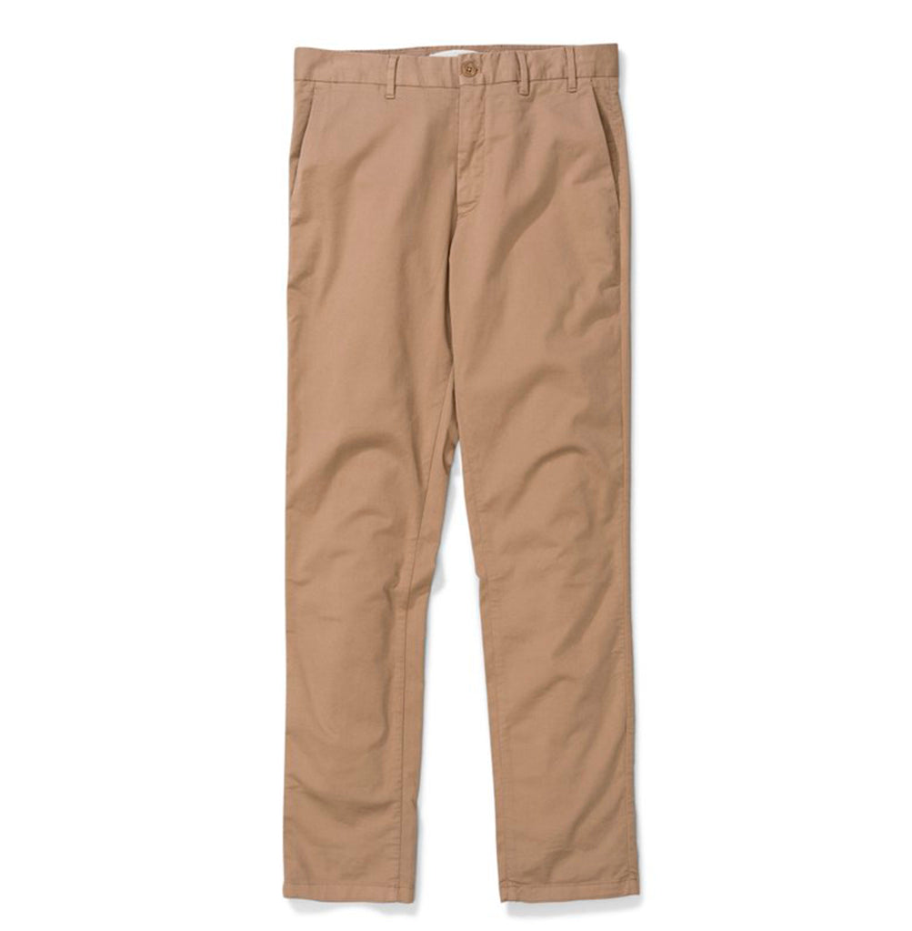 Norse Projects Aros Slim Light Stretch Chino: Utility Khaki - The Union Project