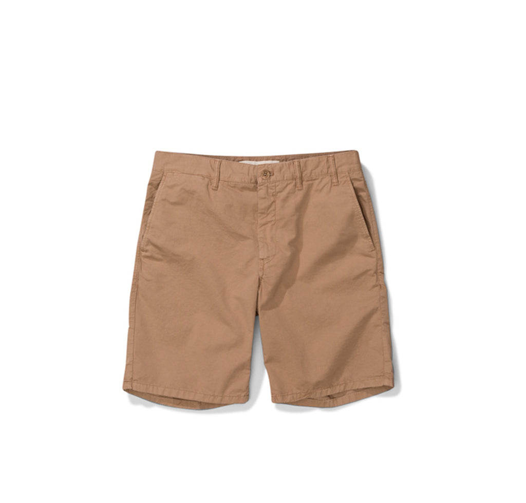 Norse Projects Aros Light Twill Shorts: Utility Khaki - The Union Project
