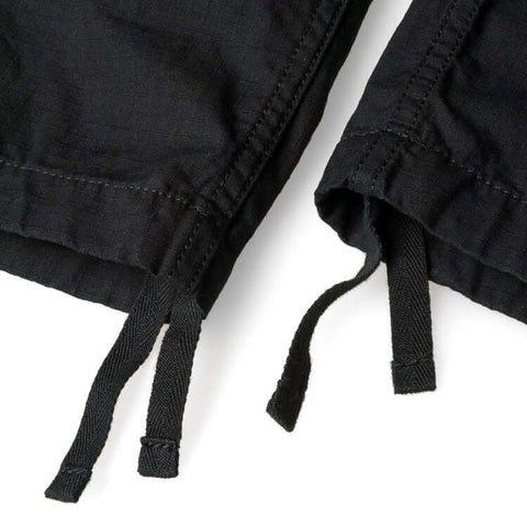 Trousers Carhartt WIP Aviation Pant: Black Rinsed - The Union Project