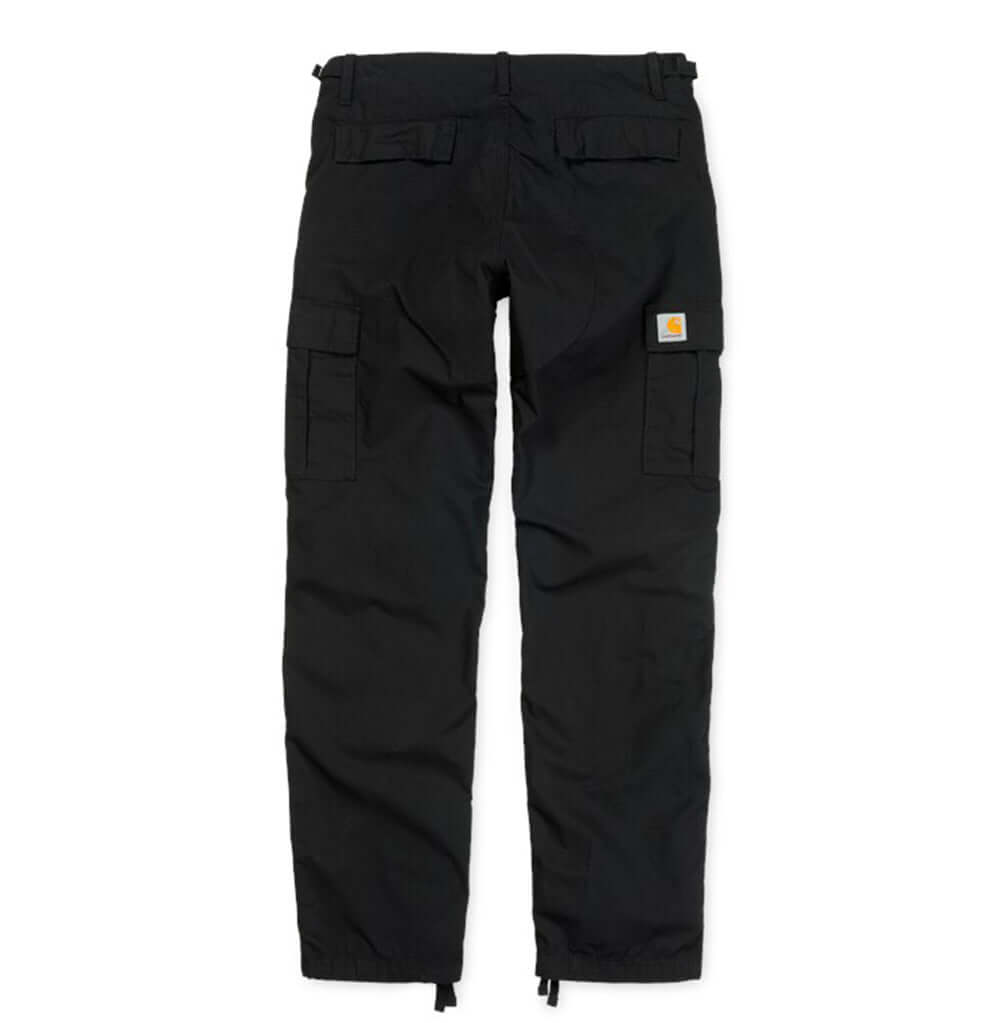 Carhartt WIP Aviation Pant: Black Rinsed - The Union Project