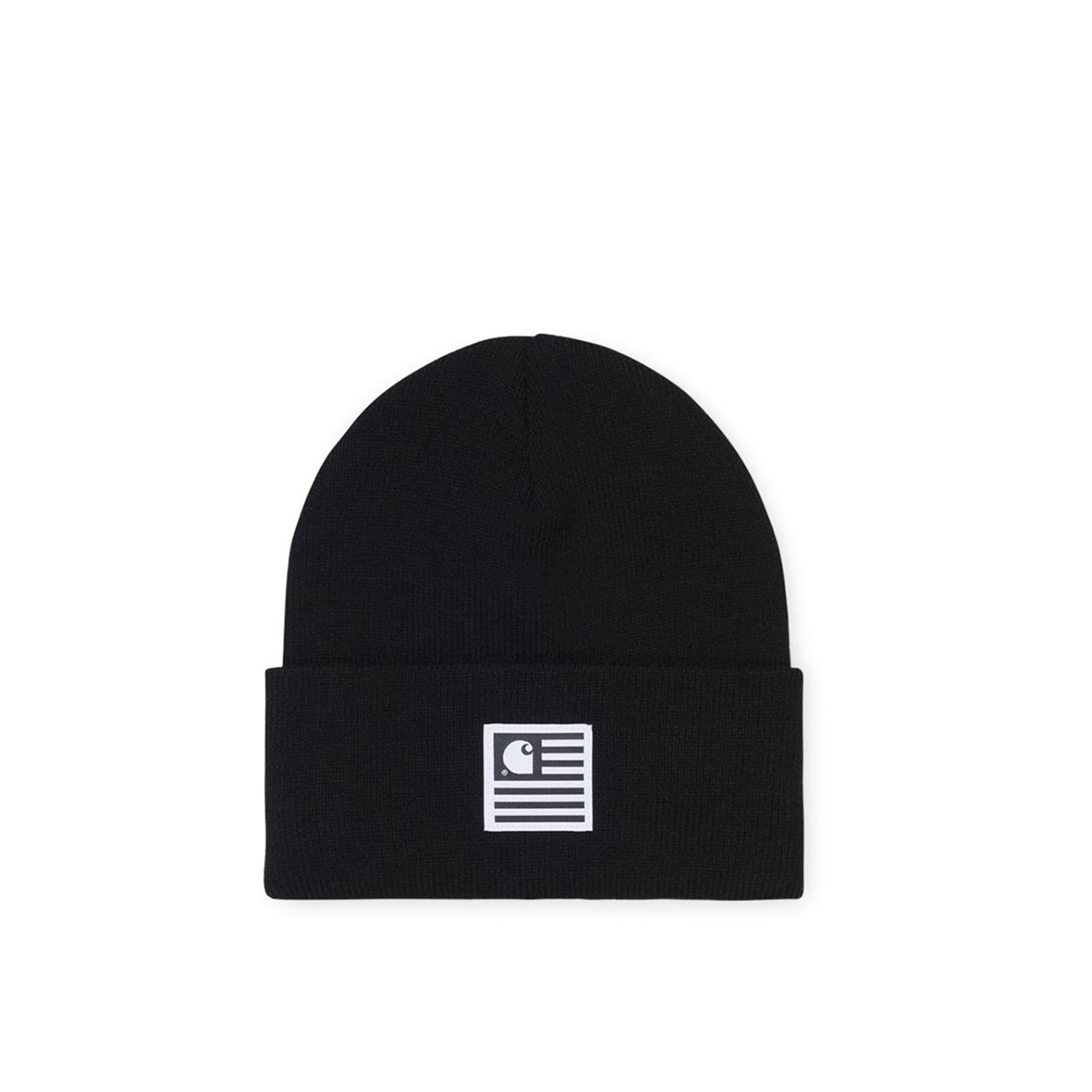 Carhartt WIP State Beanie: Black - The Union Project