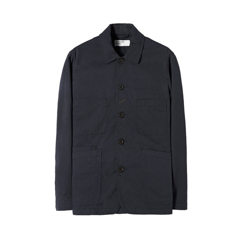 Universal Works Bakers Jacket: Black