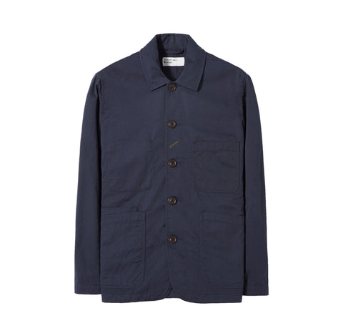 Universal Works Bakers Jacket: Navy