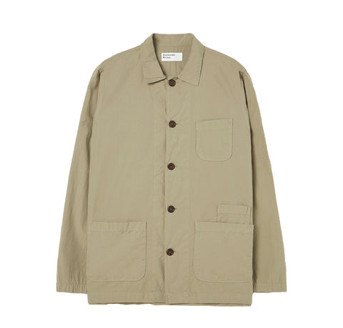 Universal Works Bakers Overshirt: Laurel