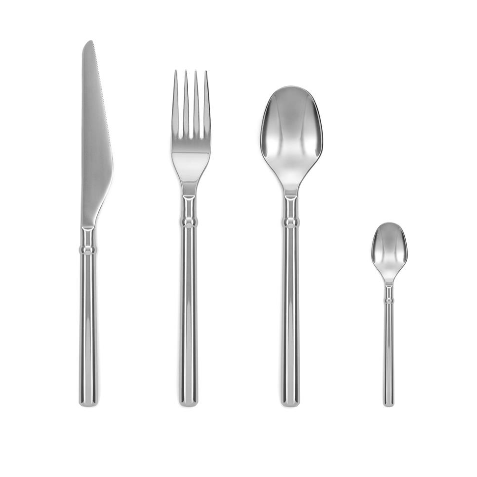Utensils Normann Banquet Cutlery Gift Box (16 Pack): Stainless Steel - The Union Project, Cheltenham, free delivery