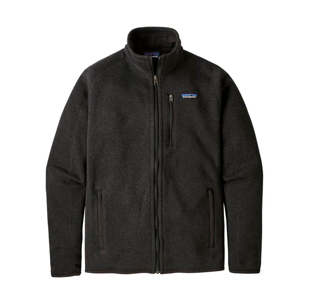 Patagonia Better Sweater Jacket: Black - The Union Project